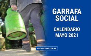 garrafa social mayo 2021 calendario
