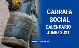 garrafa social junio 2021 calendario